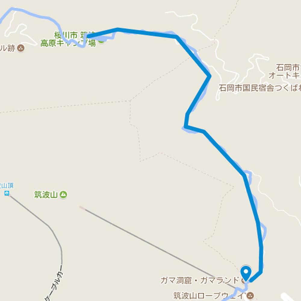 コースマップ③ 林道、トレイル