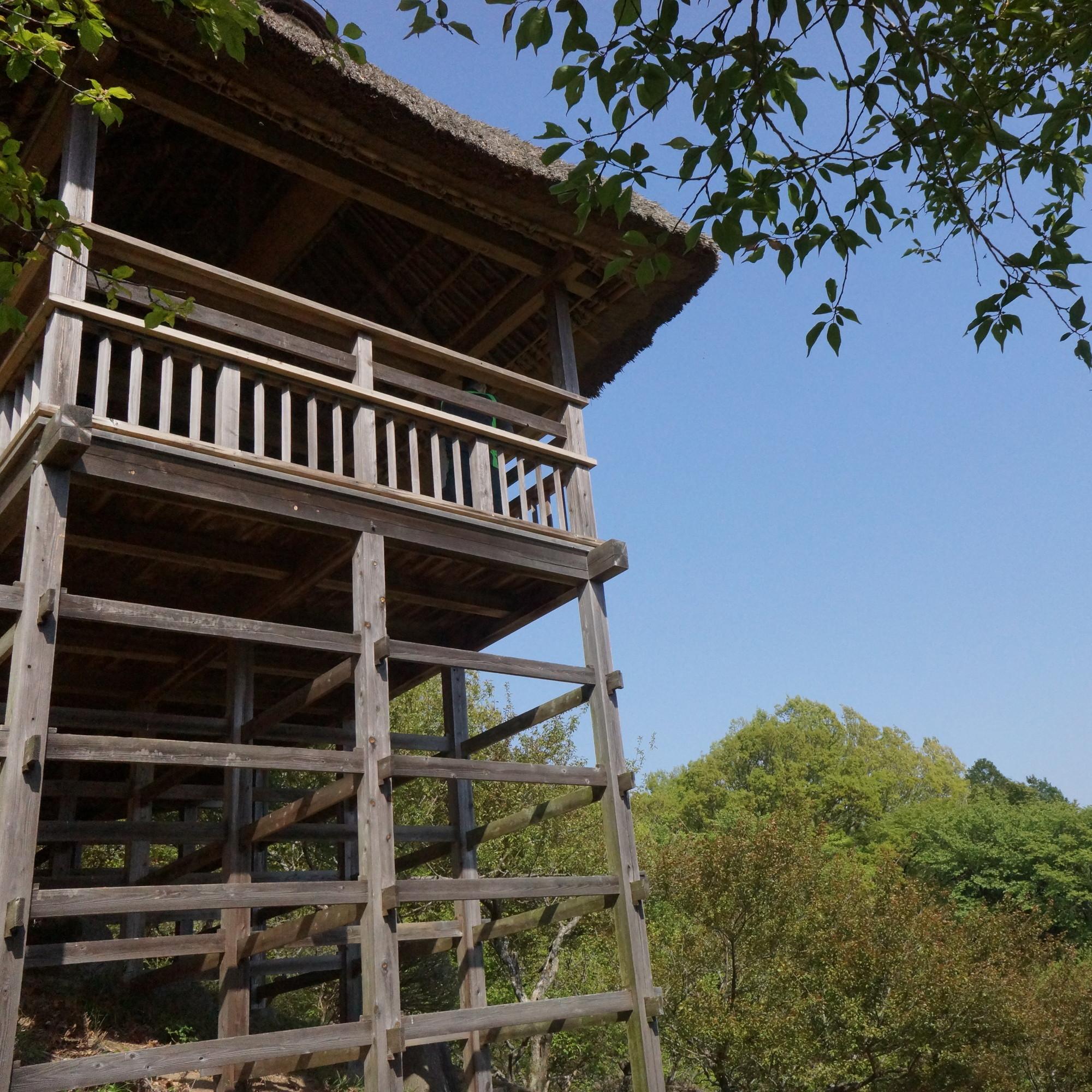 梅林にある見晴らし台、ここにもナイス建築が