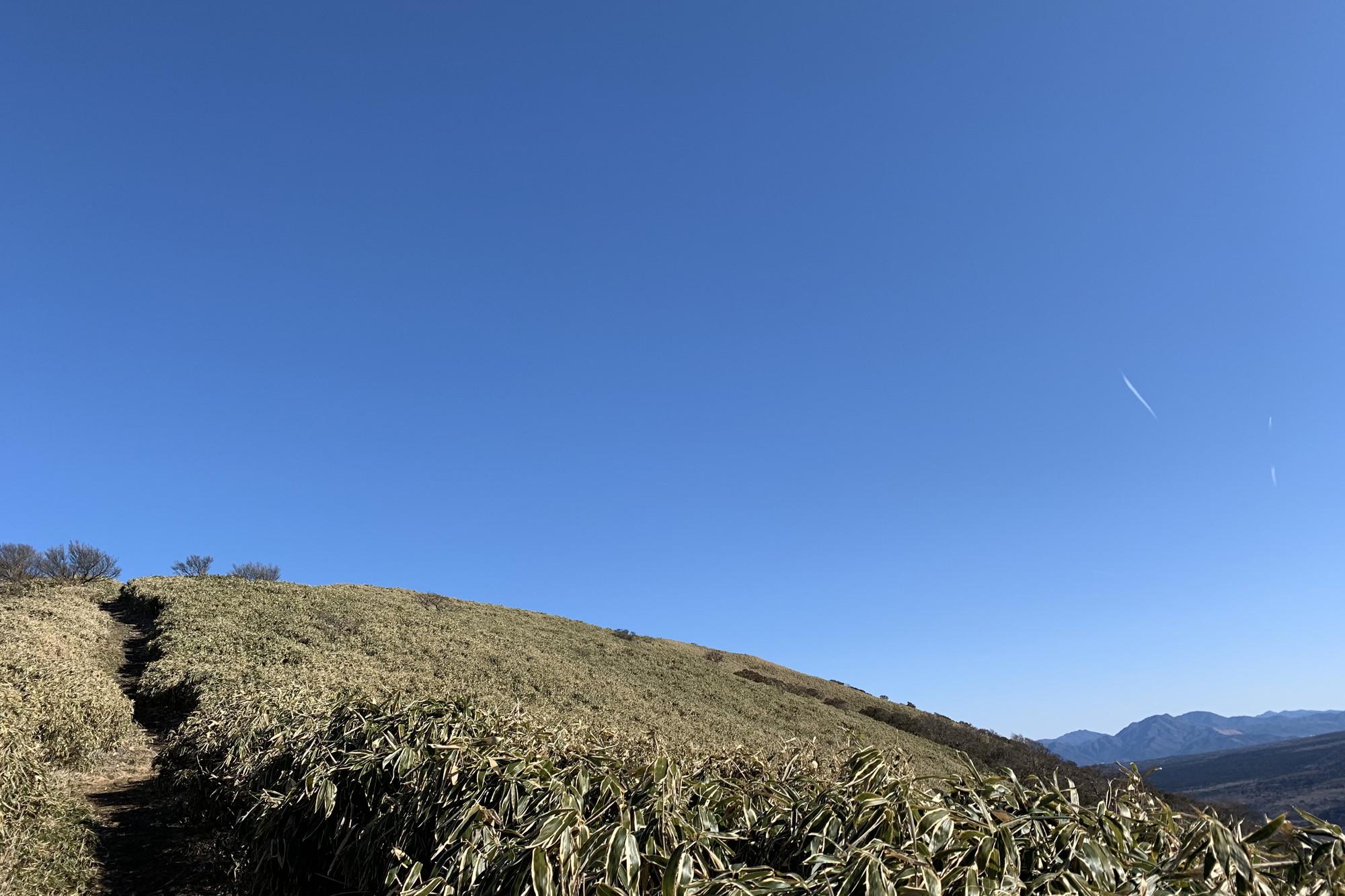 竜ヶ岳は景色が開けて気持ちがいい登り